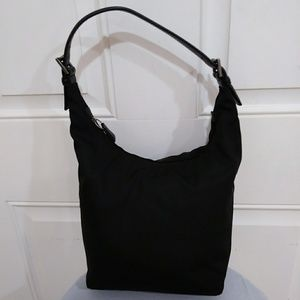Coach Mercer twill hobo bag
